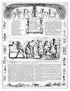 Punch Almanack 1846 April