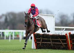 Midnight Tune ridden by Aidan Coleman wins the 32Red Casino Mares' Handicap Hurdle Race during day two of the 32Red Winter Festival at Kempton Park, Sunbury on Thames.