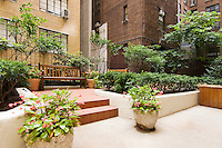 Patio Garden at 304 West 75th Street