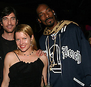 Dylan McDermott, Snoop Dogg & Heidi Jo Markel of Eclectic Pictures, Producer..The Tenants Post Screening Party.Aer Premiere Lounge.New York, NY, USA.Monday, April, 25, 2005.Photo By Selma Fonseca/Celebrityvibe.com/Photovibe.com, .New York, USA, Phone 212 410 5354, .email: sales@celebrityvibe.com ; website: www.celebrityvibe.com...