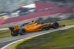 November 9, 2018 - Sao Paulo, Brazil - 14 ALONSO Fernando (spa), McLaren Renault MCL33, action during the 2018 Formula One World Championship, Brazil Grand Prix from November 08 to 11 in Sao Paulo, Brazil -  FIA Formula One World Championship 2018, Grand Prix of Brazil World Championship;2018;Grand Prix;Brazil  (Credit Image: © Hoch Zwei via ZUMA Wire)