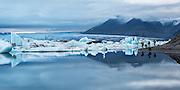 Jokulsarlon is the most popular tourist stop in Iceland.