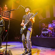 Andy Bell, Mark Gardener and Loz Colbert of Ride perform at the 9:30 Club in Washington, D.C. on the opening night of their fall U.S. tour.