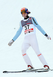 Tom Hilde of Norway at e.on Ruhrgas FIS World Cup Ski Jumping on K215 ski flying hill, on March 14, 2008 in Planica, Slovenia . (Photo by Vid Ponikvar / Sportal Images)./ Sportida)