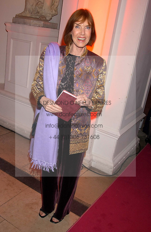 LADY STEWART wife of Jackie Stewart at a 'A Night in Cartier Paradise' to celebrate a new collection of jewellery by Cartier, held at The orangery, Kensington Palace, London W8 on 25th October 2005.<br /><br />NON EXCLUSIVE - WORLD RIGHTS