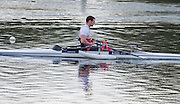 Caversham. Berkshire. UK<br /> GBR ASMM1X. Tom AGGAR,  2016 GBRowing, Para Rowing Media Day, UK GBRowing Training base near Reading, Berkshire.<br /> <br /> Friday  15/04/2016<br /> <br /> [Mandatory Credit; Peter SPURRIER/Intersport-images]