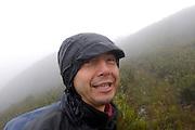 Loja, Ecuador - Saturday, Jan 05 2008: Eduardo Tapia, Biotours guide, in Podocarpus National Park. (Photo by Peter Horrell / http://www.peterhorrell.com)