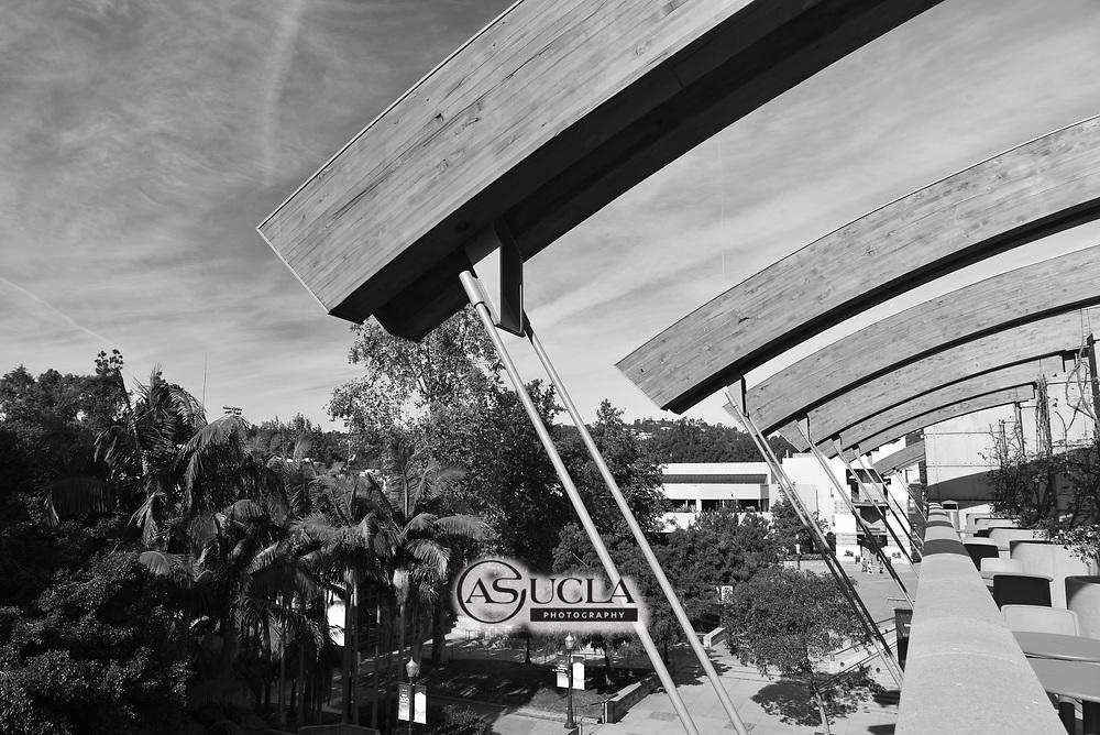ASUCLA Photography Archive-  Exterior image of Ackerman Union, University of California , Westwood, California.<br /> Copyright: ASUCLA