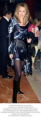 Model LISA BUTCHER  at a party in London on 19th March 2003.	PIE 23