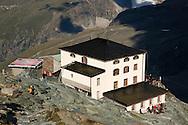 Hornli Hutte (at the base of the climbing route up the Matterhorn), Zermatt, Switzerland