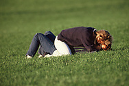 A Wonderful Momengt in a park ion Washington DC<br />Photo by Dennis Brack. bb77