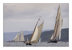 Ayrshire Lass 1887 Gaff Cutter and Mariette 1915 Gaff Schooner...The Round Cumbraes race at Larsg starting the 3rd Fife Regatta...* The Fife Yachts are one of the world's most prestigious group of Classic .yachts and this will be the third private regatta following the success of the 98, .and 03 events.  .A pilgrimage to their birthplace of these historic yachts, the 'Stradivarius' of .sail, from Scotland's pre-eminent yacht designer and builder, William Fife III, .on the Clyde 20th -27th June.   . ..More information is available on the website: www.fiferegatta.com . .Press office contact: 01475 689100         Lynda Melvin or Paul Jeffes