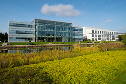 Menzies Distribution Ltd office building at Edinburgh Park a modern business park at South Gyle in Edinburgh, Scotland, United Kingdom.