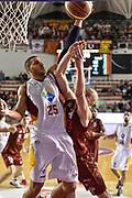 DESCRIZIONE : Campionato 2014/15 Virtus Acea Roma - Umana Reyer Venezia<br /> GIOCATORE : Hrvoje Peric Rok Stipcevic<br /> CATEGORIA : Tiro Penetrazione Stoppata<br /> SQUADRA : Virtus Acea Roma<br /> EVENTO : LegaBasket Serie A Beko 2014/2015<br /> GARA : Virtus Acea Roma - Umana Reyer Venezia<br /> DATA : 01/02/2015<br /> SPORT : Pallacanestro <br /> AUTORE : Agenzia Ciamillo-Castoria/GiulioCiamillo<br /> Predefinita :