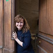 Milano, Italia, 2 Aprile 2021. Roberta Paolini attrice e clown.