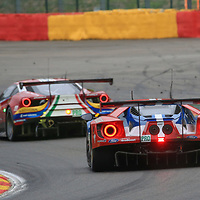 #66, Ford Chip Ganassi Team UK, Ford GT, driven by, Stefan Mucke, Olivier Pla, Billy Johnson, FIA WEC 6hrs of Spa 2017, 06/05/2017,