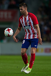 October 25, 2017 - Elche, Elche, Spain - Sergi of Atletico de Madrid during the Spanish Copa del Rey (King's Cup) round of 32 first leg football match between.Elche CF and Atletico de Madrid at the Martinez Valero stadium in Elche (Credit Image: © Sergio Lopez/Pacific Press via ZUMA Wire)