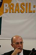 Belo Horizonte_MG, Brasil. ..Presidente do Banco Central do Brasil, Henrique Meireles, na 47 reuniao do BID...The president of Brazilian Central Bank, Henrique Meireles, in the 47 meeting of BID...Foto: LEO DRUMOND / NITRO