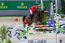 SCHWIZER Pius (SUI), Balou Rubin R<br /> Genf - CHI Geneve Rolex Grand Slam 2019<br /> Prix des Communes Genevoises<br /> 2-Phasen-Springen<br /> International Jumping Competition 1m50<br /> Two Phases: A + A, Both Phases Against the Clock<br /> 13. Dezember 2019<br /> © www.sportfotos-lafrentz.de/Stefan Lafrentz