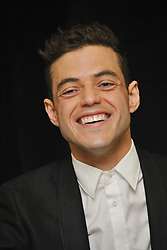 """Rami Malek at the Hollywood Foreign Press Association Press Conference for """"Mr. Robot"""" held in New York City, New York on March 30, 2015. (Photo by Yoram Kahana/Shooting Star) *** NO US TABLOID PUBLICATIONS *** Please Use Credit from Credit Field ***"""