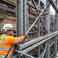 15/05/18 Glasgow -  Atlantic Square facade retention project