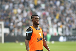 October 14, 2017 - Turin, Piedmont, Italy - Quissanga BASTOS (SS Lazio)  before the Serie A football match between Juventus FC and SS Lazio at Olympic Allianz Stadium on 14 October, 2017 in Turin, Italy. (Credit Image: © Massimiliano Ferraro/NurPhoto via ZUMA Press)