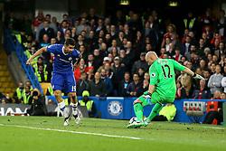 Goal, Diego Costa of Chelsea scores, Chelsea 1-0 Middlesbrough - Mandatory by-line: Jason Brown/JMP - 08/05/17 - FOOTBALL - Stamford Bridge - London, England - Chelsea v Middlesbrough - Premier League