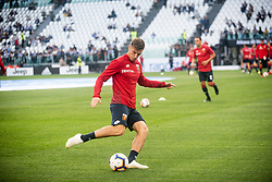 October 20, 2018 - Turin, Piedmont, Italy - Krzysztof Pi?tek of Genoa during the Serie A match between Juventus and Genoa at the Allianz Stadium, the final score was 1-1 in Turin, Italy on 20 October 2018. (Credit Image: © Alberto Gandolfo/Pacific Press via ZUMA Wire)