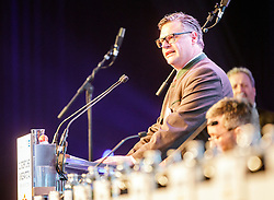 04.03.2017, Messe, Klagenfurt, AUT, FPÖ, 32. Ordentlicher Bundesparteitag, im Bild Klubobmann Christian Leyroutz // at the 32nd Ordinary Party Convention of the Freiheitliche Partei Oesterreich (FPÖ) in Klagenfurt, Austria on 2017/03/04. EXPA Pictures © 2017, PhotoCredit: EXPA/ Wolgang Jannach