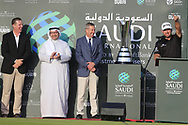 Graeme McDowell (NIR) lifting the winners trophy after the final round of  the Saudi International powered by Softbank Investment Advisers, Royal Greens G&CC, King Abdullah Economic City,  Saudi Arabia. 02/02/2020<br /> Picture: Golffile   Fran Caffrey<br /> <br /> <br /> All photo usage must carry mandatory copyright credit (© Golffile   Fran Caffrey)
