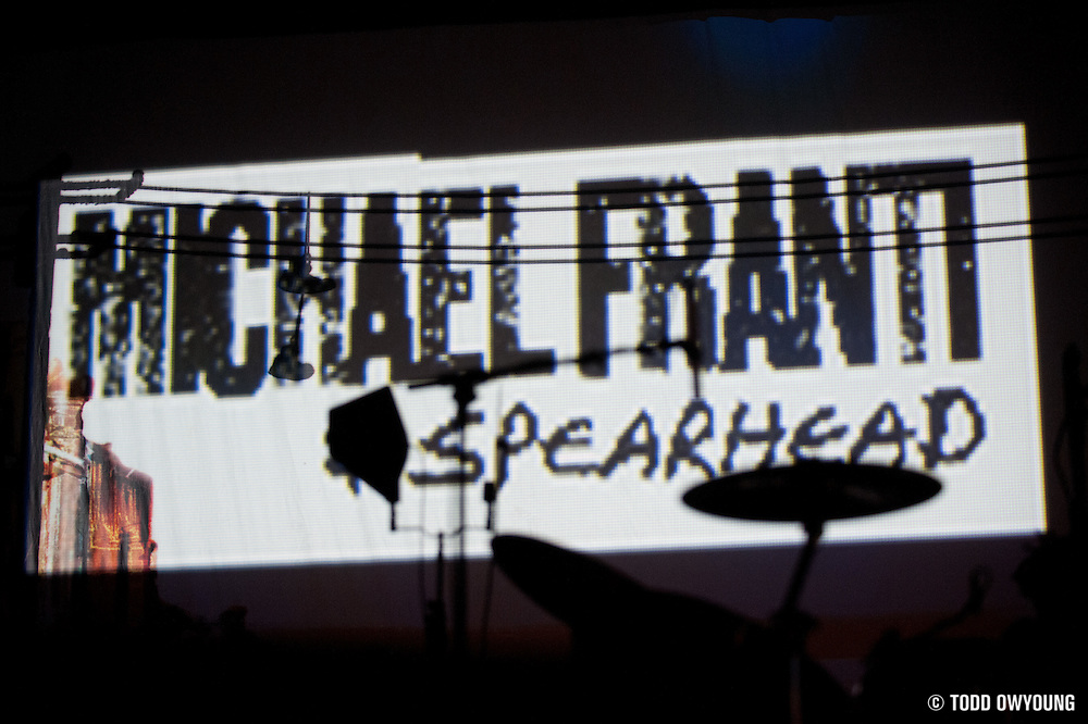 Photos of Michael Franti And Spearhead performing in support of John Mayer on the Battle Studies Tour. St. Louis, March 20, 2010.
