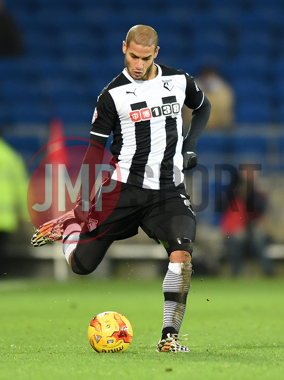 Watford's Adlene Guedioura in action against Cardiff City - Photo mandatory by-line: Paul Knight/JMP - Mobile: 07966 386802 - 28/12/2014 - SPORT - Football - Cardiff - Cardiff City Stadium - Cardiff City v Watford - Sky Bet Championship