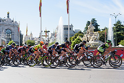Jolien D'hoore in the chase at Madrid Challenge by la Vuelta 2017 - a 87 km road race on September 10, 2017, in Madrid, Spain. (Photo by Sean Robinson/Velofocus.com)