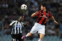 "Kwadwo Asamoah Udinese e Alexandre Pato Milan<br /> Udine, 22/05/2011 Stadio ""Friuli""<br /> Udinese-Milan<br /> Campionato Italiano Serie A 2010/2011<br /> Foto Nicolo' Zangirolami Insidefoto"