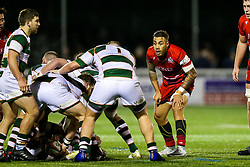 Tusi Pisi (capt) of Bristol Rugby looks on - Rogan/JMP - 10/02/2018 - RUGBY UNION - Trailfinders Sports Ground - Ealing Trailfinders v Bristol Rugby - Greene King IPA Championship.