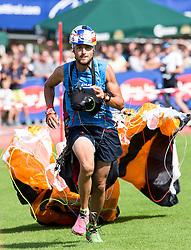 10.09.2016, Lienz, AUT, Red Bull Dolomitenmann 2016, Paragleiter, im Bild Aaron Durogati (ITA, Paragleiter vom Team PURE ENCAPSULATIONS) // during the paragliding of the 2016 Red Bull Dolomitenmann at the Lienz, Austria on 2016/09/10. EXPA Pictures © 2016, PhotoCredit: EXPA/ Johann Groder