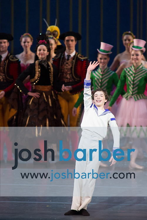 """Justin Souriau-Levine during American Ballet Theatre's performance of """"The Nutcracker"""" at Segerstrom Center for the Arts on Thursday, December 10, 2015 in Costa Mesa, California. (Photo/Josh Barber)"""
