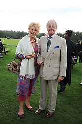 NEIL & CHRISTINE HAMILTON at the 4th Jaeger-LeCoultre Polo Cup in aid of the James Wentworth-Stanly Memorial Fund held at Coworth Park, Ascot, Berkshire on 10th September 2010.