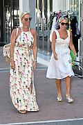 EXCLUSIVE<br />TV beauty Denise Van Outen arrives at Golden Tarts saloon in Marbella,<br />©Exclusivepix Media