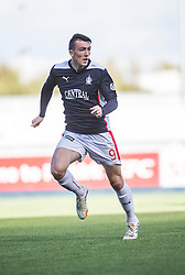 Falkirk's David Smith.<br /> Falkirk 2 v 1 Alloa Athletic, Scottish Championship game played 4/10/2014 at The Falkirk Stadium.