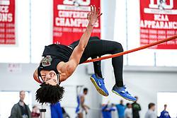 high jump, Brown<br /> BU John Terrier Classic <br /> Indoor Track & Field Meet <br /> day 2