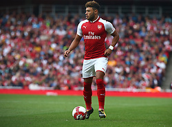July 30, 2017 - London, England, United Kingdom - Arsenal's Alex Oxlade-Chamberlain..during Emirates Cup match between Arsenal  against Savilla FC   at The Emirates Stadium in north London on July 30, 2017, the game is one of four matches played over two days for the Emirates Cup. (Credit Image: © Kieran Galvin/NurPhoto via ZUMA Press)