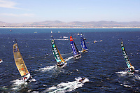 Seiling<br /> <br /> VOLVO OCEAN RACE 2005-2006 - IN-PORT RACE 2 -  CAPE TOWN (RSA) - 26/12/2005 <br /> <br /> VOLVO OPEN 70 FLEET<br /> <br /> NORWAY ONLY