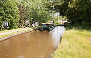 Brecon and Monmouthshire Canal, Talybont-on-Usk, Powys, Wales, UK