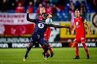 Fotball , 11 November 2018 , Eliteserien , Kristiansund - Brann , Aliou Coly og Taijo Teniste<br /> <br /> <br /> , Foto: Marius Simensen, Digitalsport