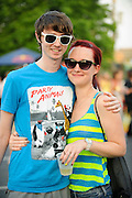 Fans at the first annual Pulse Festival in St. Louis on June 9, 2012.