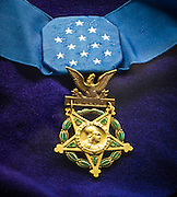 Charles Lindbergh's Medal of Honor, bestowed upon him by President Calvin Coolidge after his historic trans-Atlantic flight on May 20th, 1927.