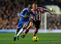 14.11.2010, Stamford Bridge, London, ENG, PL, FC Chelsea vs FC Sunderland, im Bild Chelsea`s Ramires  and Sunderland's Lee Cattermole -  Chelsea vs Sunderland  in the Barclays Premier League  at Stamford Bridge stadium in London on 14/11/2010. EXPA Pictures © 2010, PhotoCredit: EXPA/ IPS/ Rob Noyes +++++ ATTENTION - OUT OF ENGLAND/UK +++++