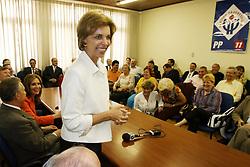 A governadora eleita do Rio Grande do Sul, Yeda Crusius durante visita ao PP - Partido Progressista. FOTO: Jefferson Bernardes/Preview.com