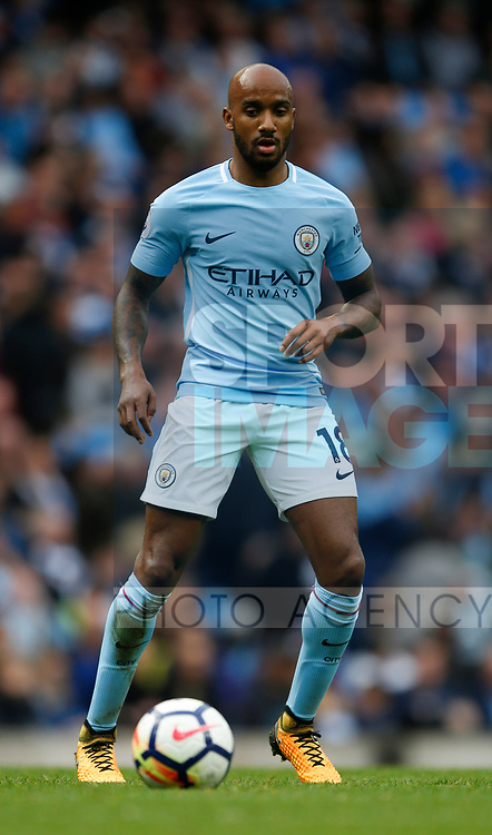Fabian Delph of Manchester City during the premier league match at the Etihad Stadium, Manchester. Picture date 22nd September 2017. Picture credit should read: Simon Bellis/Sportimage